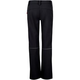 TROLLKIDS Fjell Pantalon Softshell Enfant, black/med blue